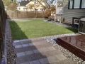 Walkway and Lawn Install
